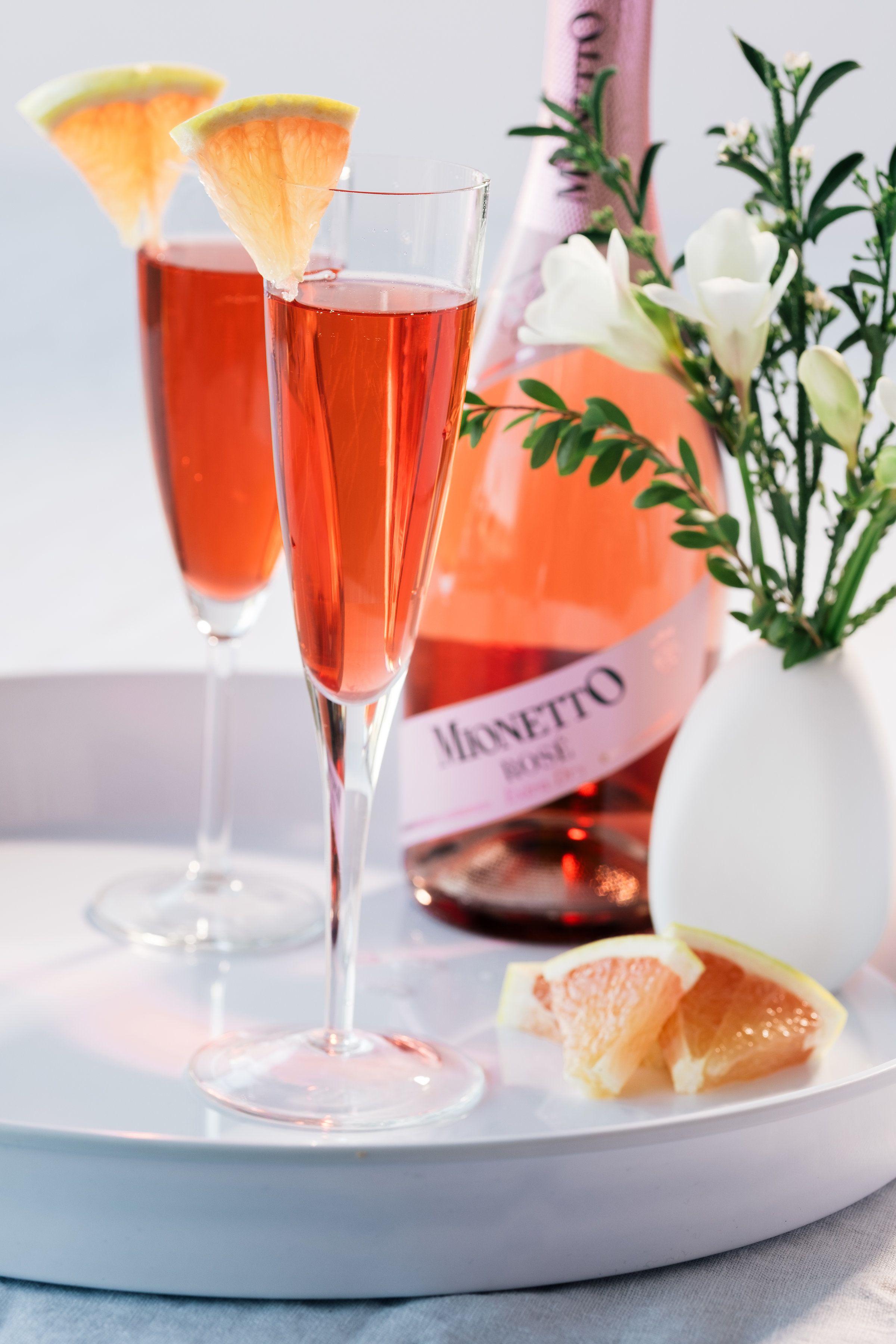 Mionetto Rose Amaro Spritz Spritz Recipe Spritz Champagne Flute