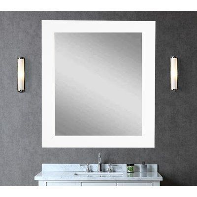 American Value Vision In White Vanity Wall Mirror Products