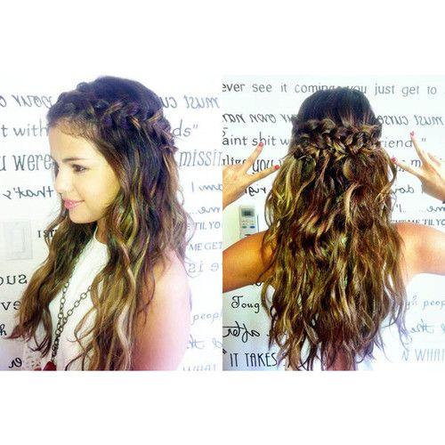 boho braid hairstyle selena gomez braided hairstyles