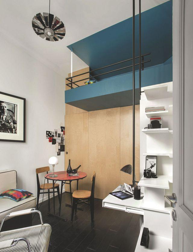10 studios ultra déco et fonctionnels | small spaces | Pinterest ...