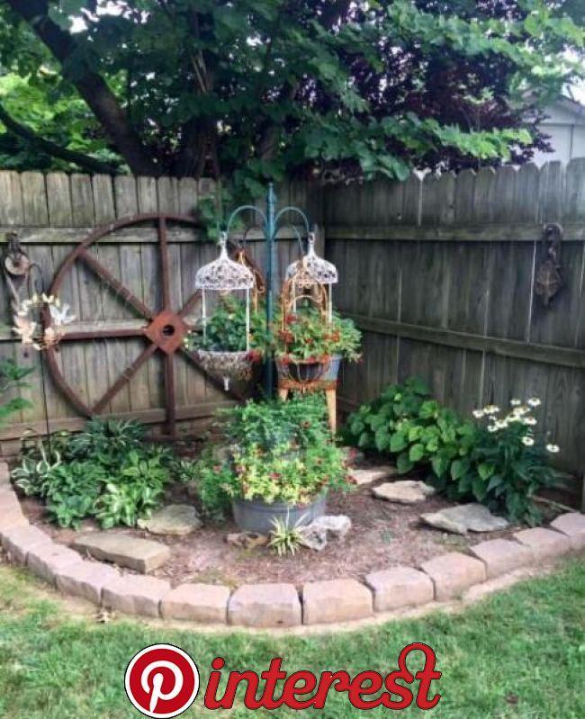 45 Inspiring Backyard Ideas And Fabulous Landscaping Designs Garden Yard Ideas Corner Landscaping Backyard Landscaping Designs