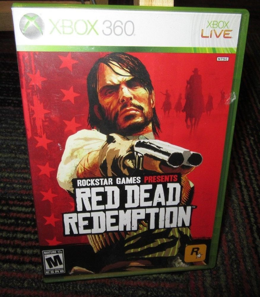 Red Dead Redemption Game F Microsoft Xbox 360 Case Game Manual