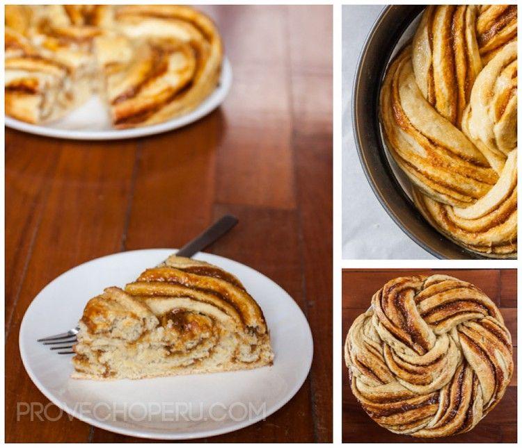 Peruvian Manjar Rose Bread from Provecho Peru