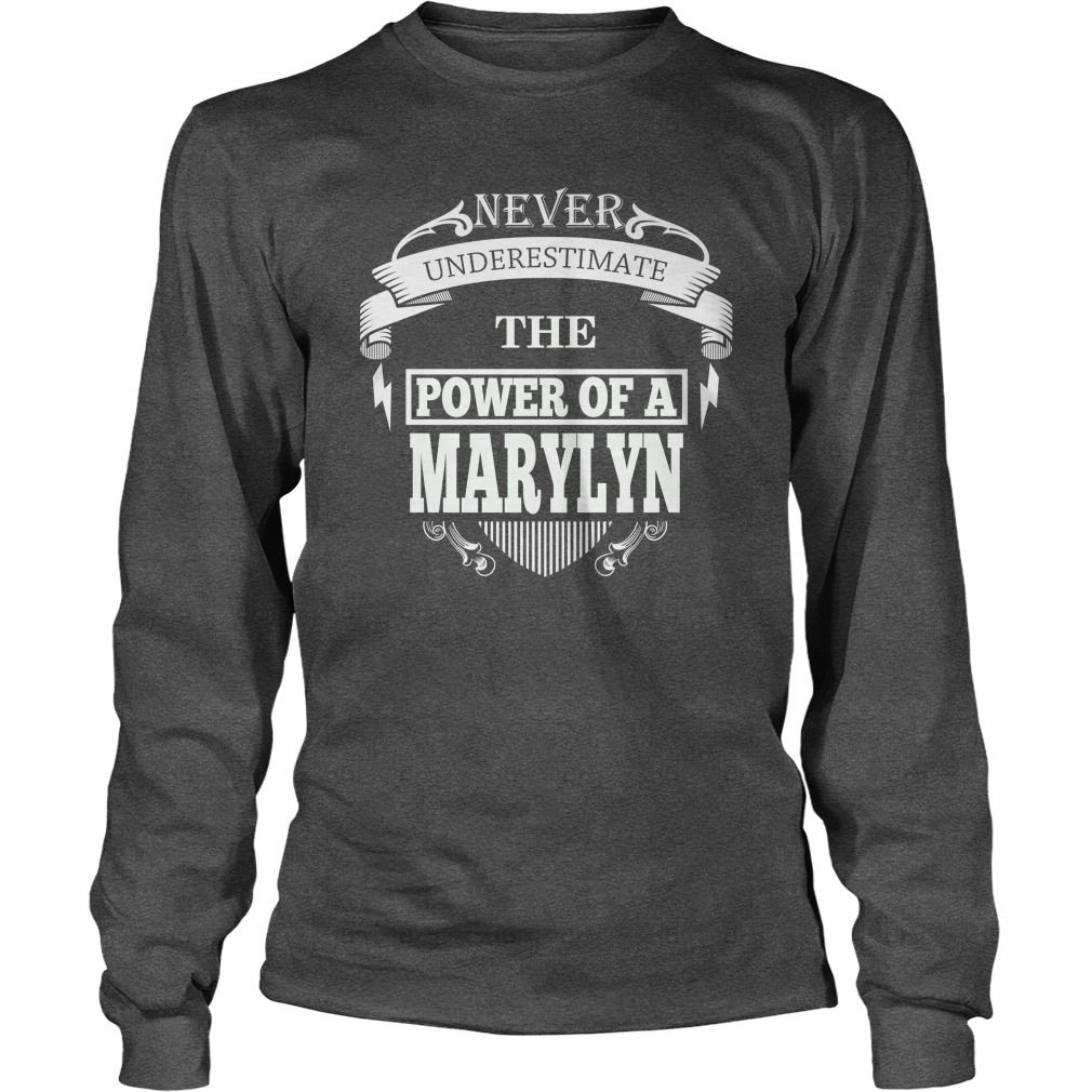 MARYLYN - Never underestimate the power of MARYLYN - MARYLYN name - MARYLYN Name Gifts - birthday gifts for MARYLYN - MARYLYN Shirts - MARYLYN T-shirt - Best Sellers #gift #ideas #Popular #Everything #Videos #Shop #Animals #pets #Architecture #Art #Cars #motorcycles #Celebrities #DIY #crafts #Design #Education #Entertainment #Food #drink #Gardening #Geek #Hair #beauty #Health #fitness #History #Holidays #events #Home decor #Humor #Illustrations #posters #Kids #parenting #Men #Outdoors…