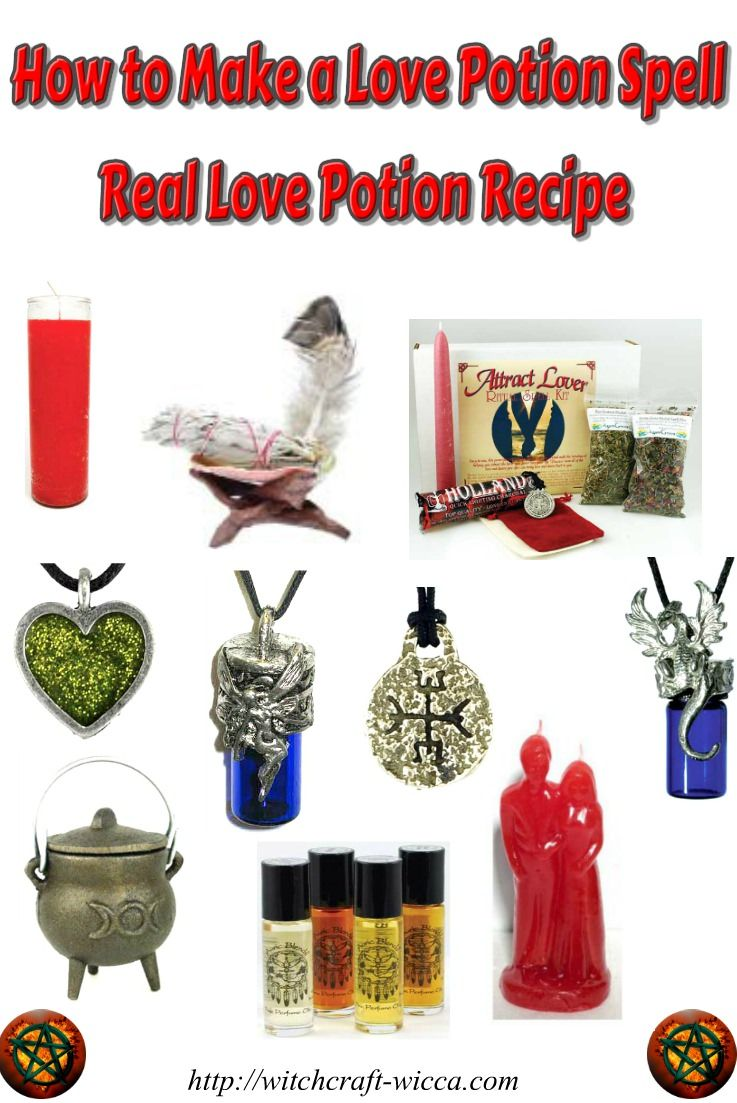 How to Make a Love Potion, Love Potion Recipe, Love Spells