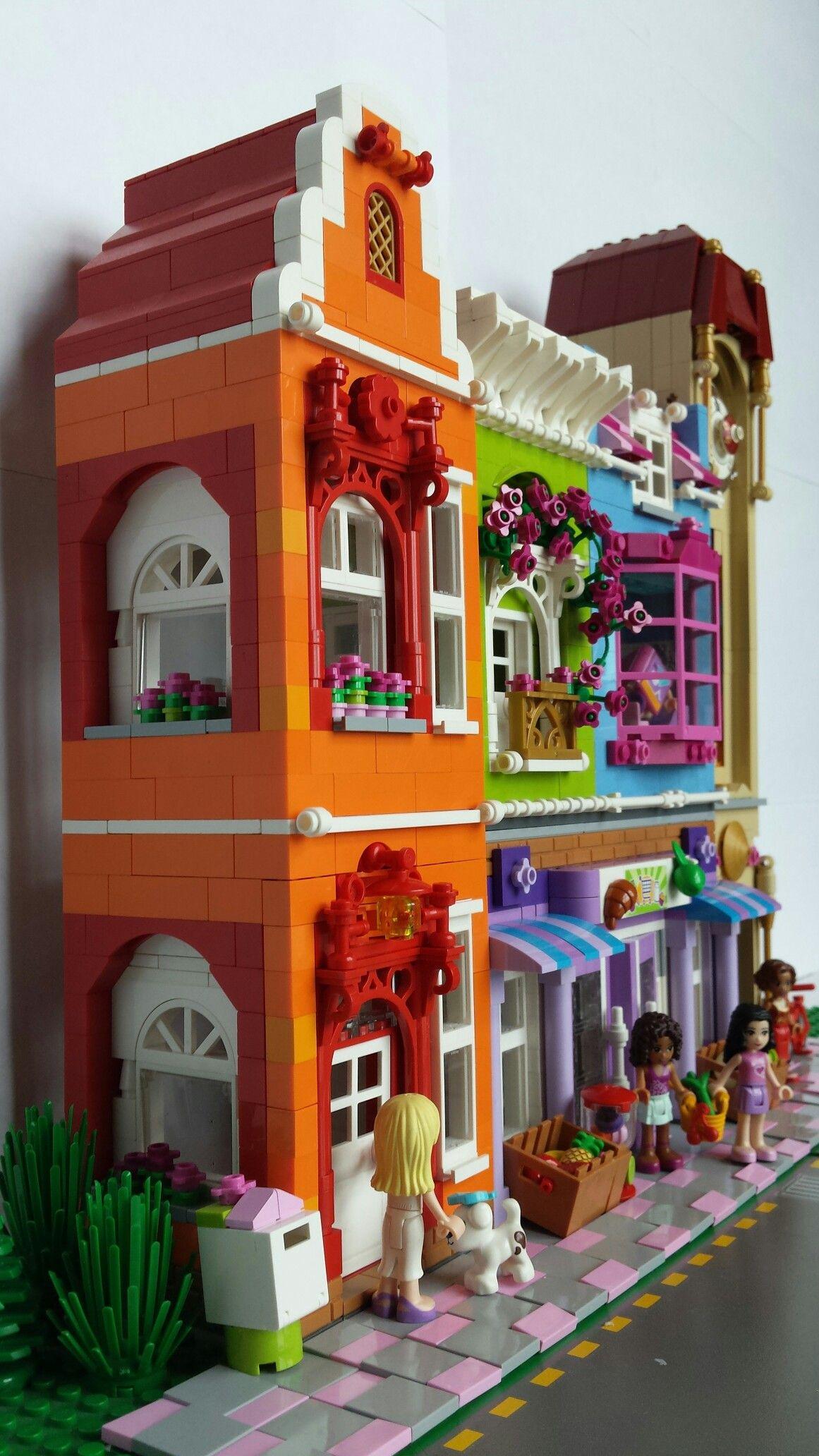Lego Friends Street Lego Pinterest