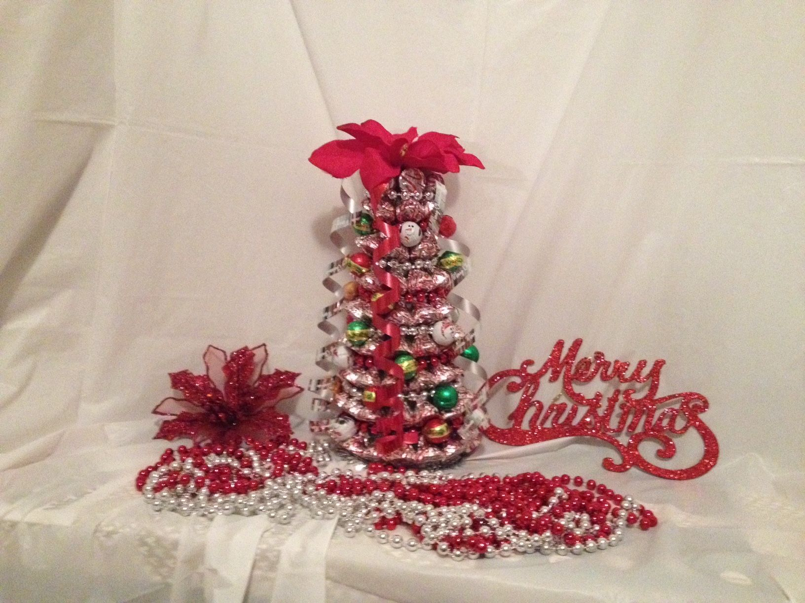 Hersheys Kisses Christmas Tree Made By Candy Bouquets By Kristen