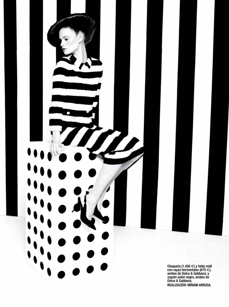 Luisa Bianchin by Sonia Sieff for Glamour Spain March 2013