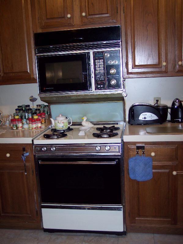 merritt oven stove microwave combo