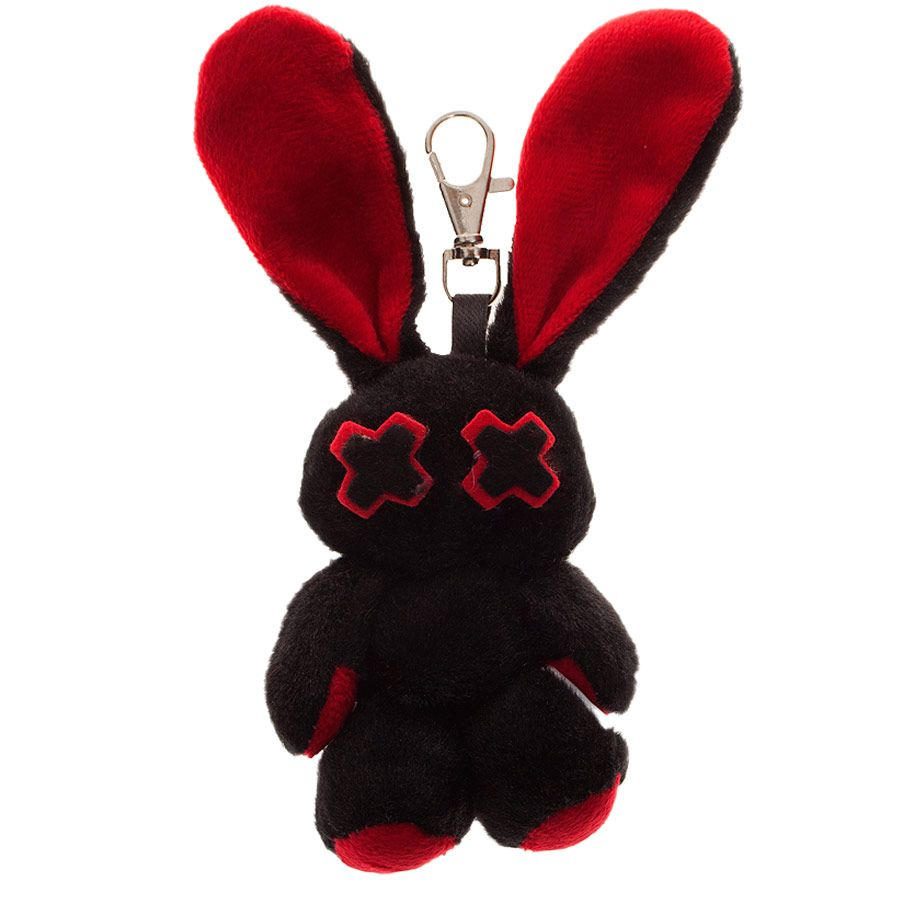 Luv bunny by poizen industries minxy keyring red tickle my fancy
