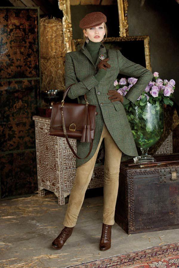 "Ralph Lauren Blue Label Fall 2012: ""Hunting Party"". http://www.annabelchaffer.com/categories/Ladies/"