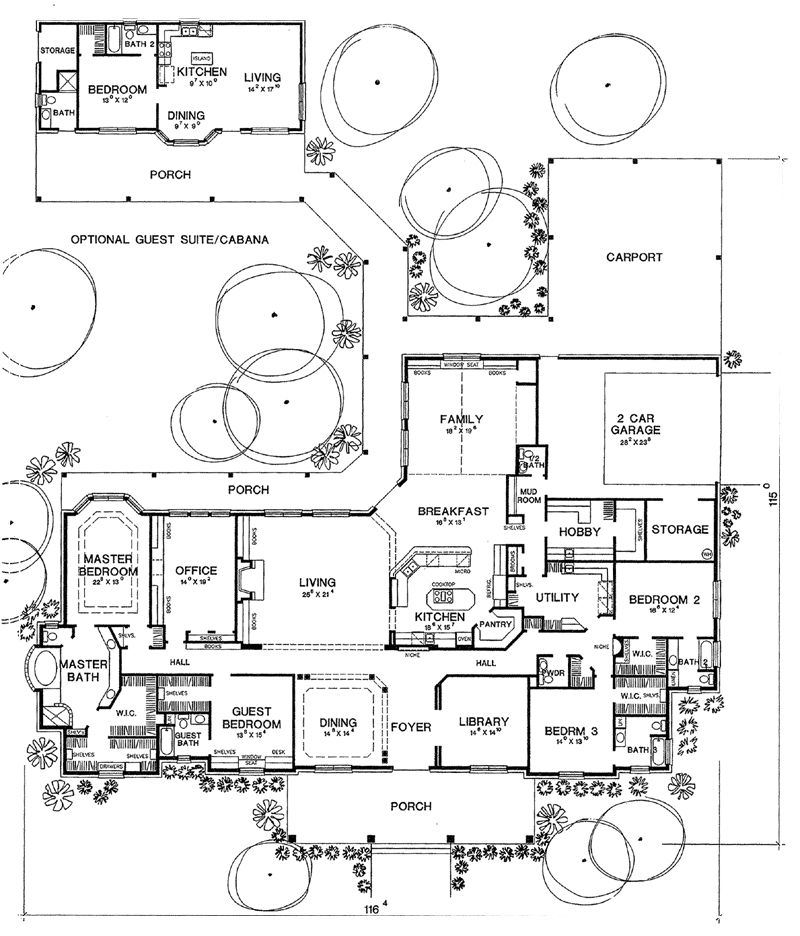 Https Upscaleexistence Blogspot Com Floorplan Onestory First Floor Plan Of Traditional House Plan House Plans One Story House Plans Traditional House Plan