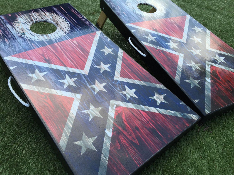 Pick Your State s Cornhole Board Set