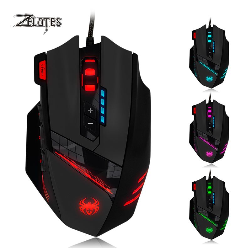 gaming mice with programmable keys