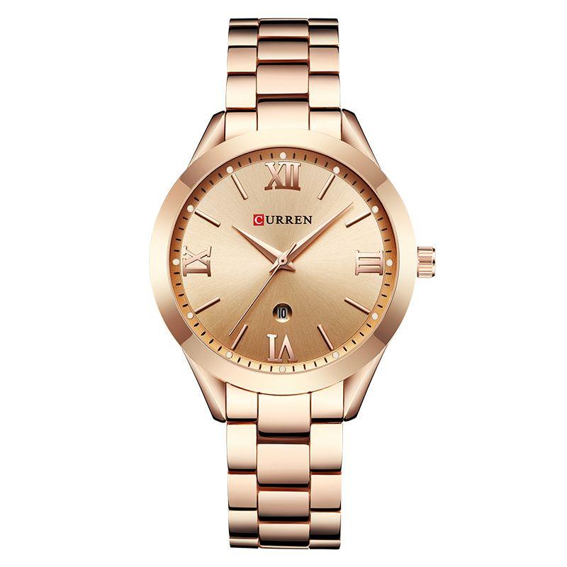 89eb30409b286e Zegarek damski CURREN Latif | ZEGARKI DAMSKIE | Gold watches women ...