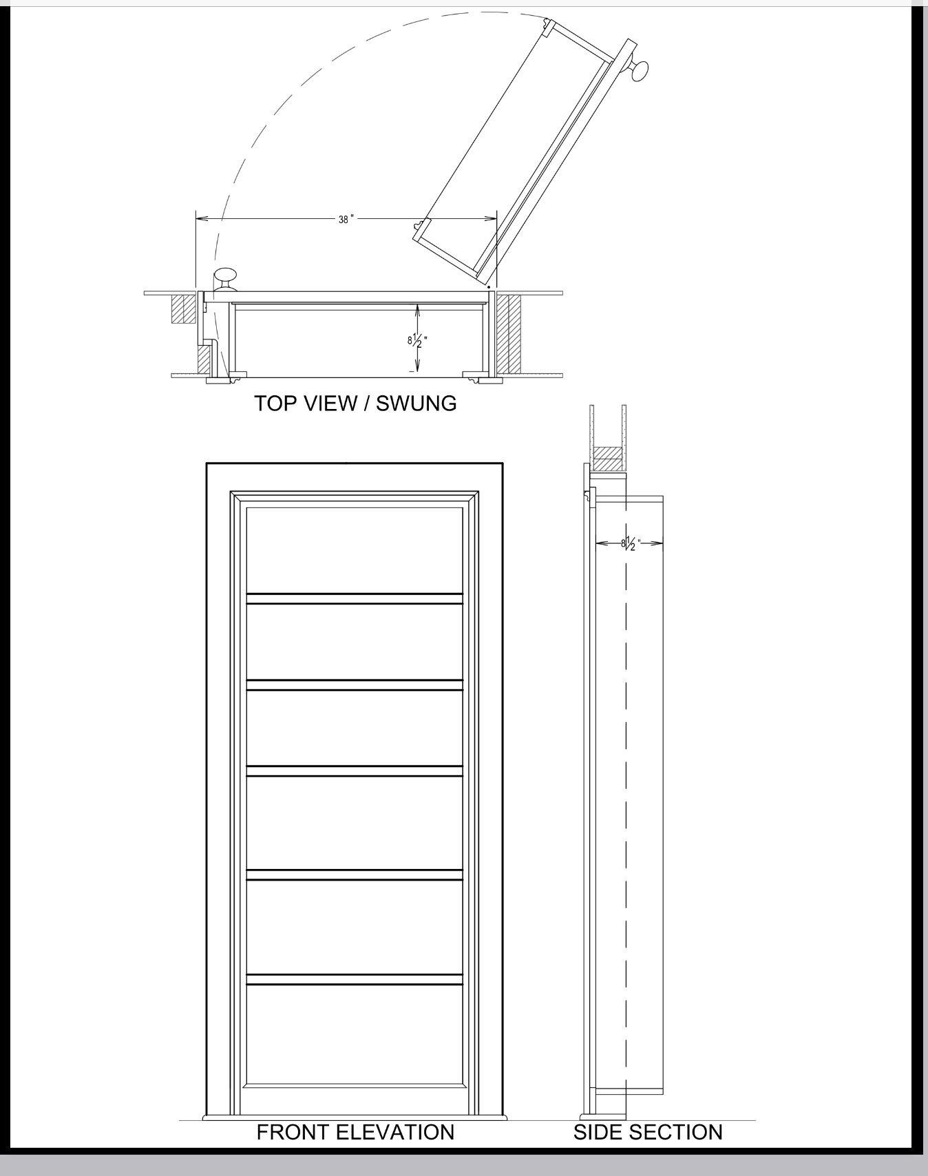 Design for hidden door hidden door bookcase hidden