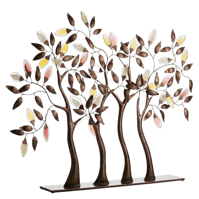 Metal trees sculpture metal tree wall art pinterest metal tree