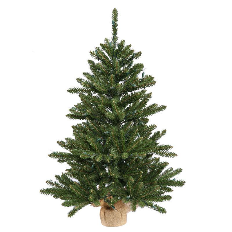 Vickerman Anoka Pine Artificial Christmas Tree with Warm White LED