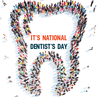 Today is #NationalDentistDay! We are celebrating Dr  Cook