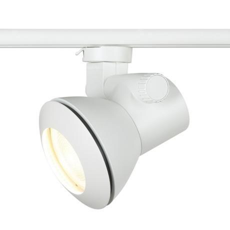 White Low Profile Par 20 Dimmable Track Head 15536 Lamps Plus Track Lighting Lightolier Track Lighting Outdoor Light Fixtures
