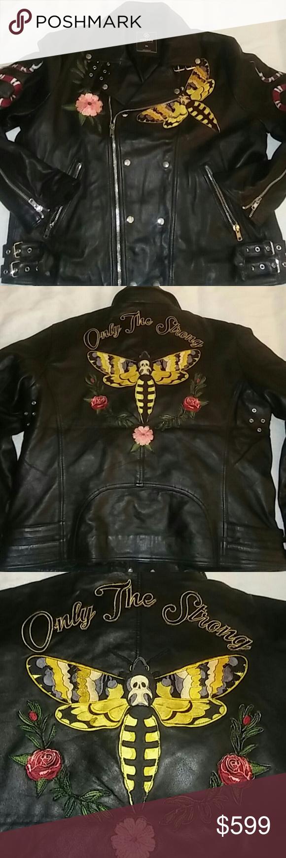 Men S Hudson Motorcycle Jacket Rare Motorcycle Jacket Hudson Jackets [ 1740 x 580 Pixel ]