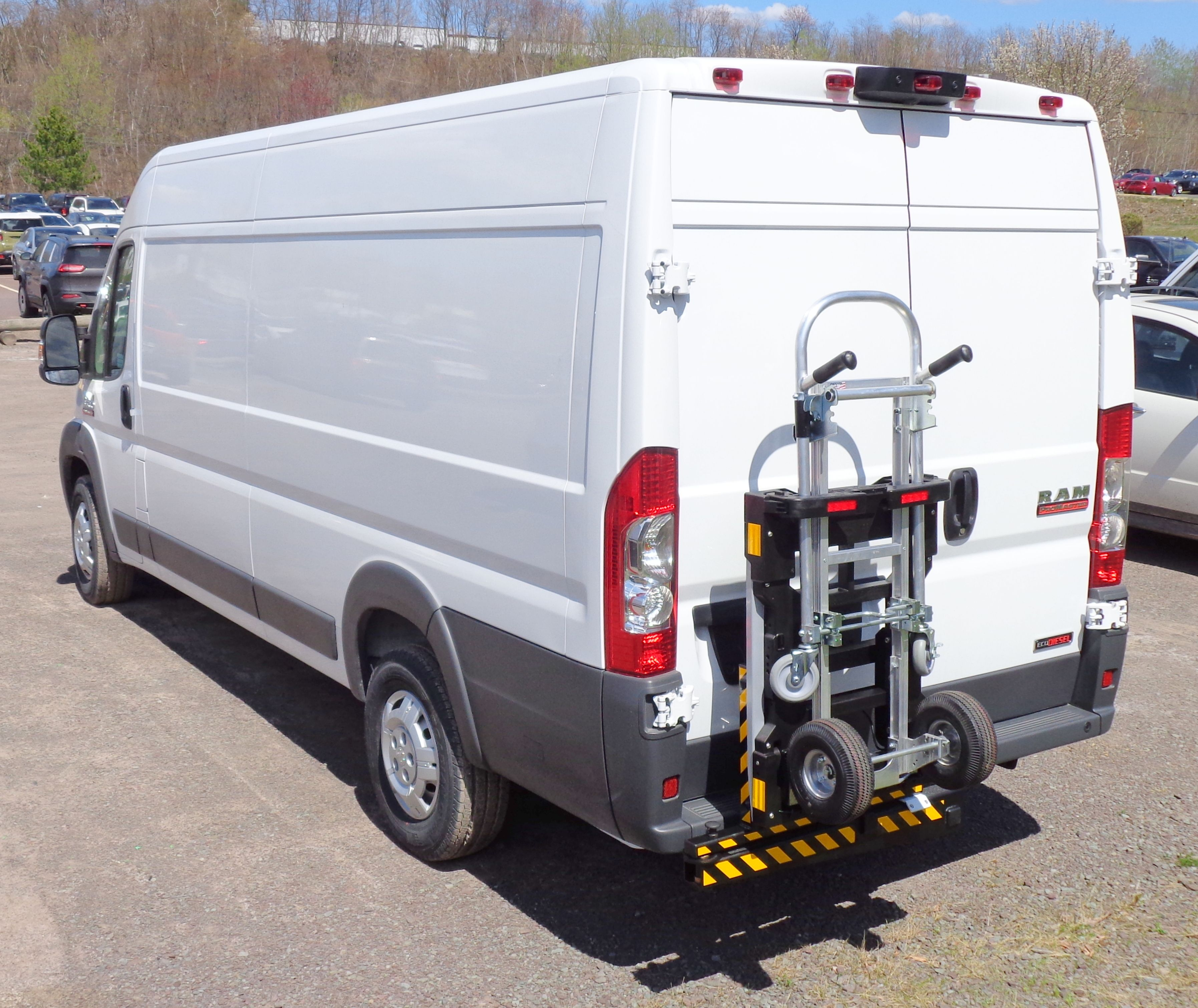 Hts Systems Trailer Hitch Mount Hts 20sdp For Dodge Promaster Cargo Delivery Van Requires A Standard Class Three 2 In Truck Transport Hand Trucks Cargo Van