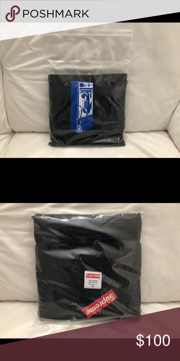 0dde5fc790aa Supreme Payphone Tee Shirt FW18 Medium Black New Supreme Payphone Tee Shirt  FW18 Men s Medium Black. New w  Supreme Tag Attached. Supreme Shirts Tees  ...