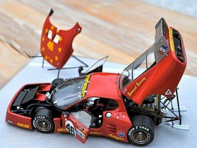 An Amazing Ferrari Build That S Art Model Cars Kits Car Model Plastic Model Cars