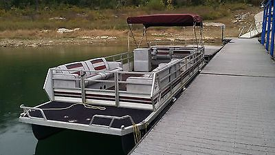 28 Foot Pontoon Boats For Sale With Images Pontoon Boats For