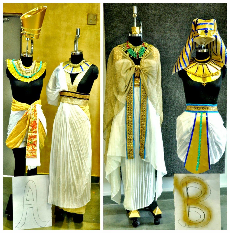 Model Cleopatra Costume