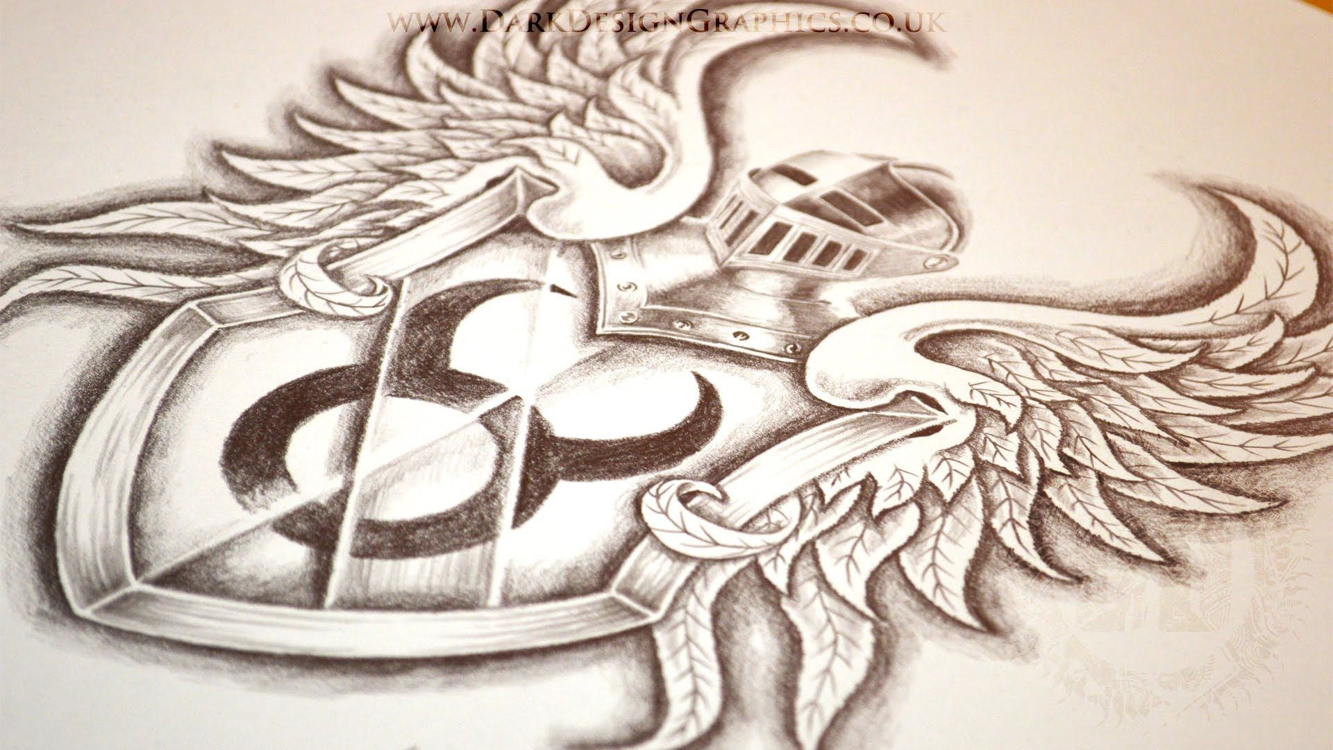 Taurus Tattoo Design Speed Drawing Youtube Taurus Tattoos Bow Tattoo Designs Skull Tattoo Design