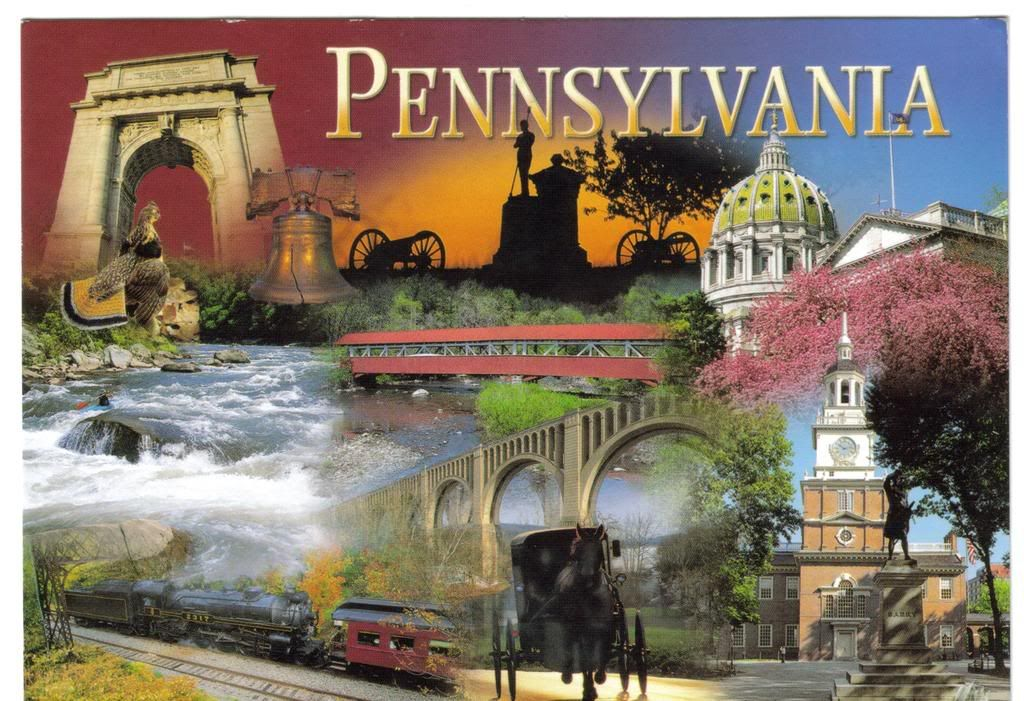 My World of Postcards: June 2008