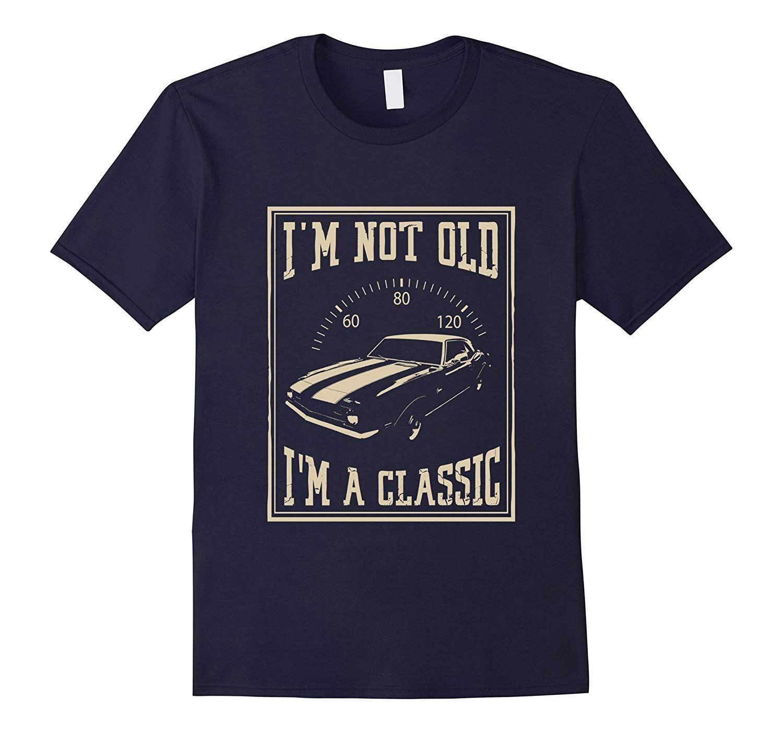 Mens Classic Shirt T Shirt Navy-Veotee