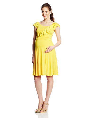 beaucute.com yellow maternity dress (05) #maternitydresses | Baby ...