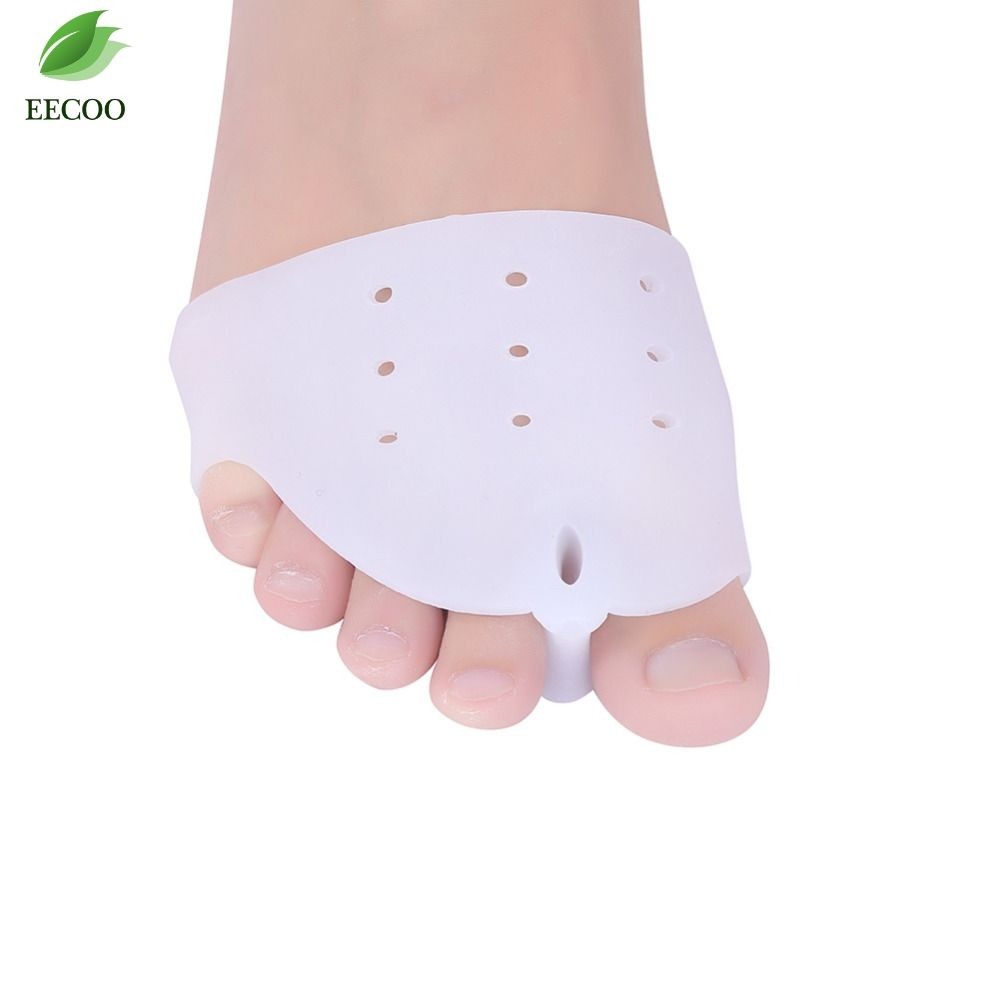 Silicone Gel Foot Fingers Toe Separator Stretchers Straighteners Hallux Valgus Correction 1pair Thumb Protect Bunion Adjuster Guard Protector Feet Care Pedicure