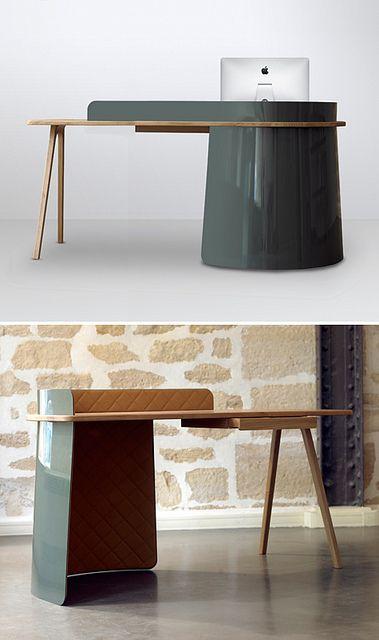 desk by { designvagabond }, via Flickr Furniture Pinterest
