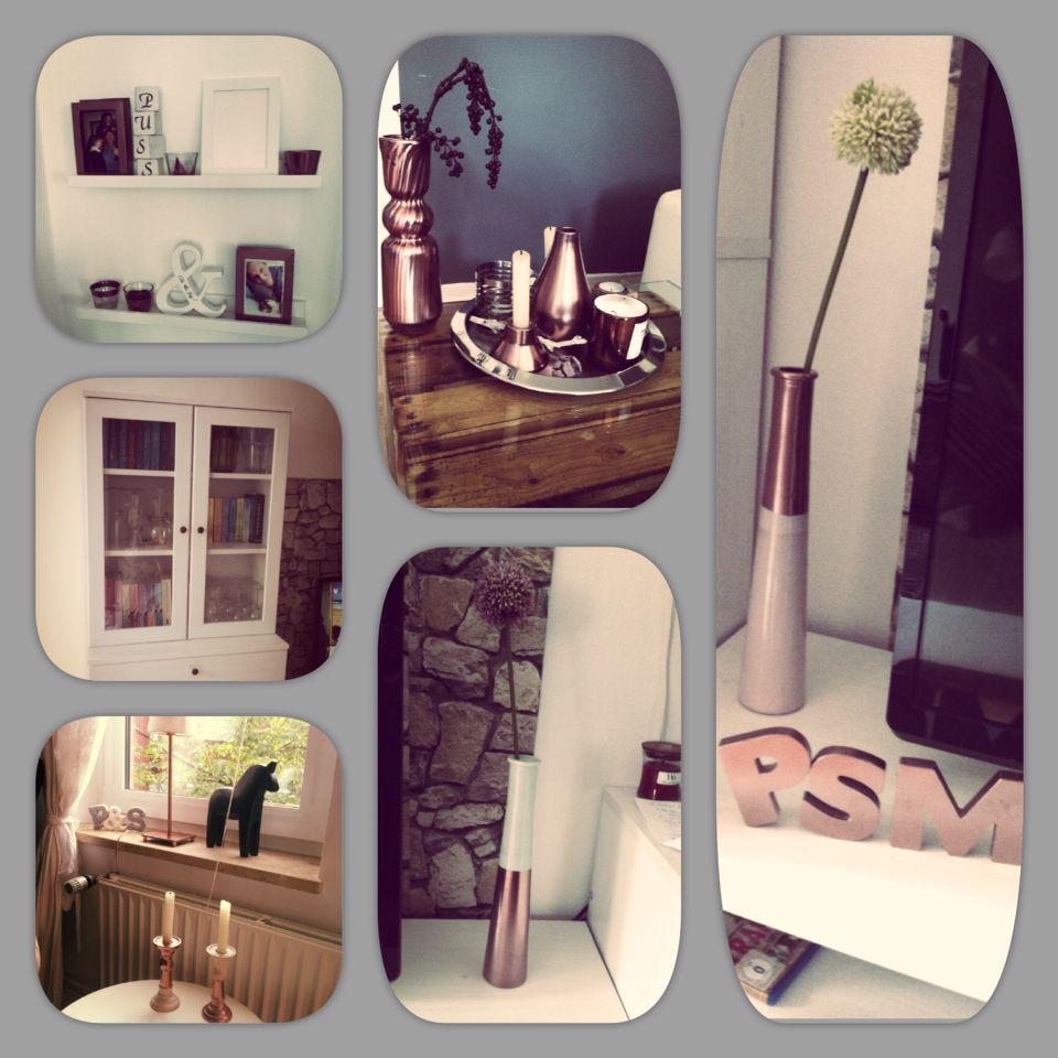 Diy kupfer aus alt mach neu mit kupferspray diy for home decoration organization - Kupferspray deko ...