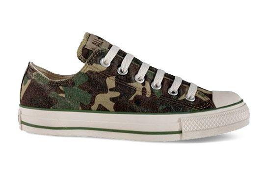camo converse shoes