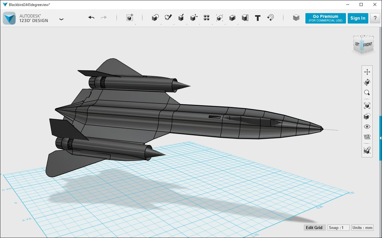 Autodesk 123d Design Design Engineering Club Fighter Jets