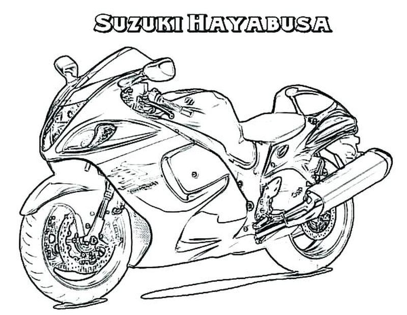Motorcycle Coloring Pages Motorcycle With Images Coloring