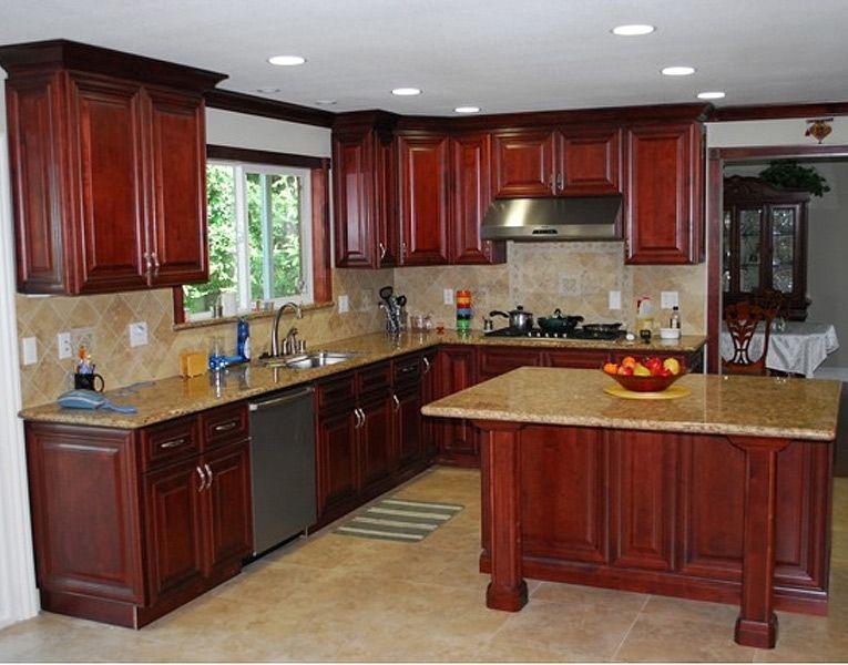 7l Jpg 765 600 Mahogany Kitchen Rta Cabinets Kitchen Cabinets