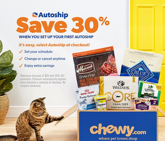 Save 30 On Your First Autoship Order Select Autoship At Checkout And Set Your Schedule Change Or Cancel At Any T Food Animals Best Cat Food Dog Food Recipes