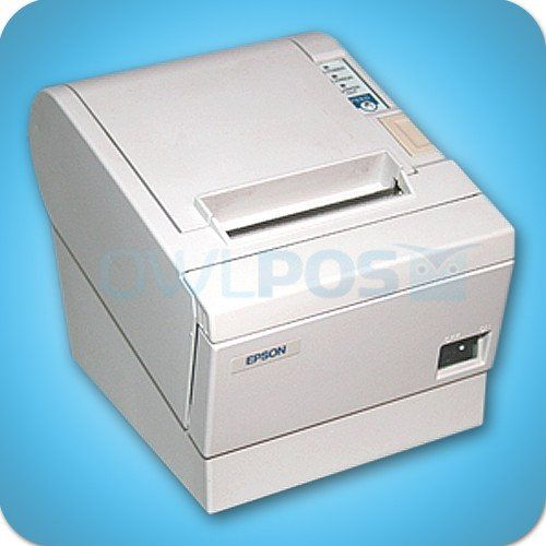 Epson Tm T88iii Thermal Receipt Printer Model M129c Refurbished White Printer Epson Printing Methods