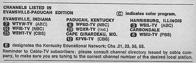Evansville Paducah Edition July 8 1972 Tv Guide Evansville Paducah