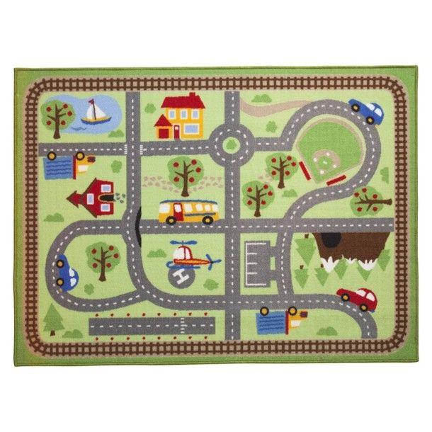 "Circo® Road Activity Mat Area Rug - 40x54"""