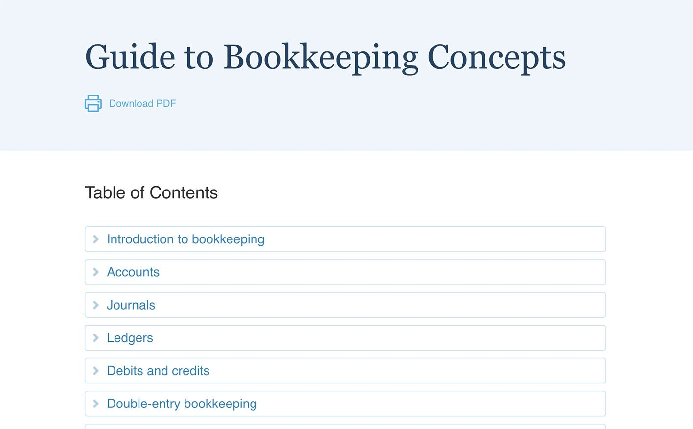 Free Online Bookkeeping Course And Training