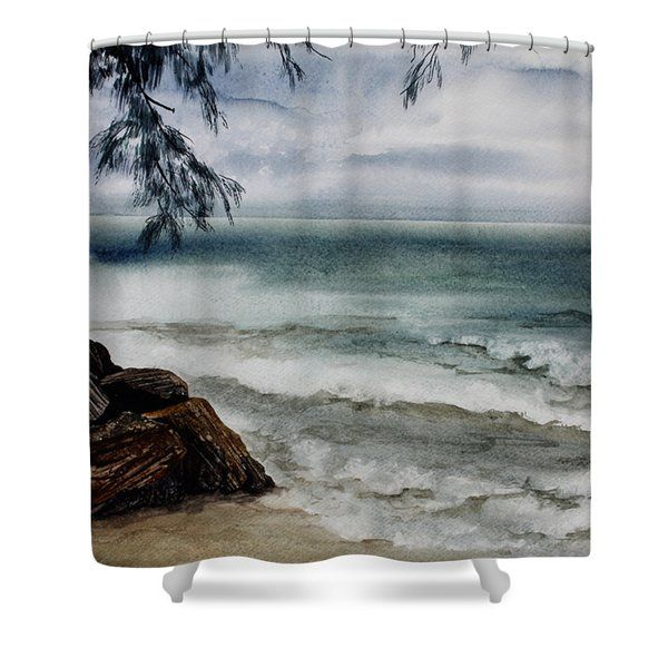 Puerto Rico Shower Curtain By Clarissa Ward Bathroomdecor