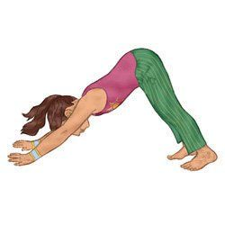 calm down yoga routine for kids printable  toddler yoga