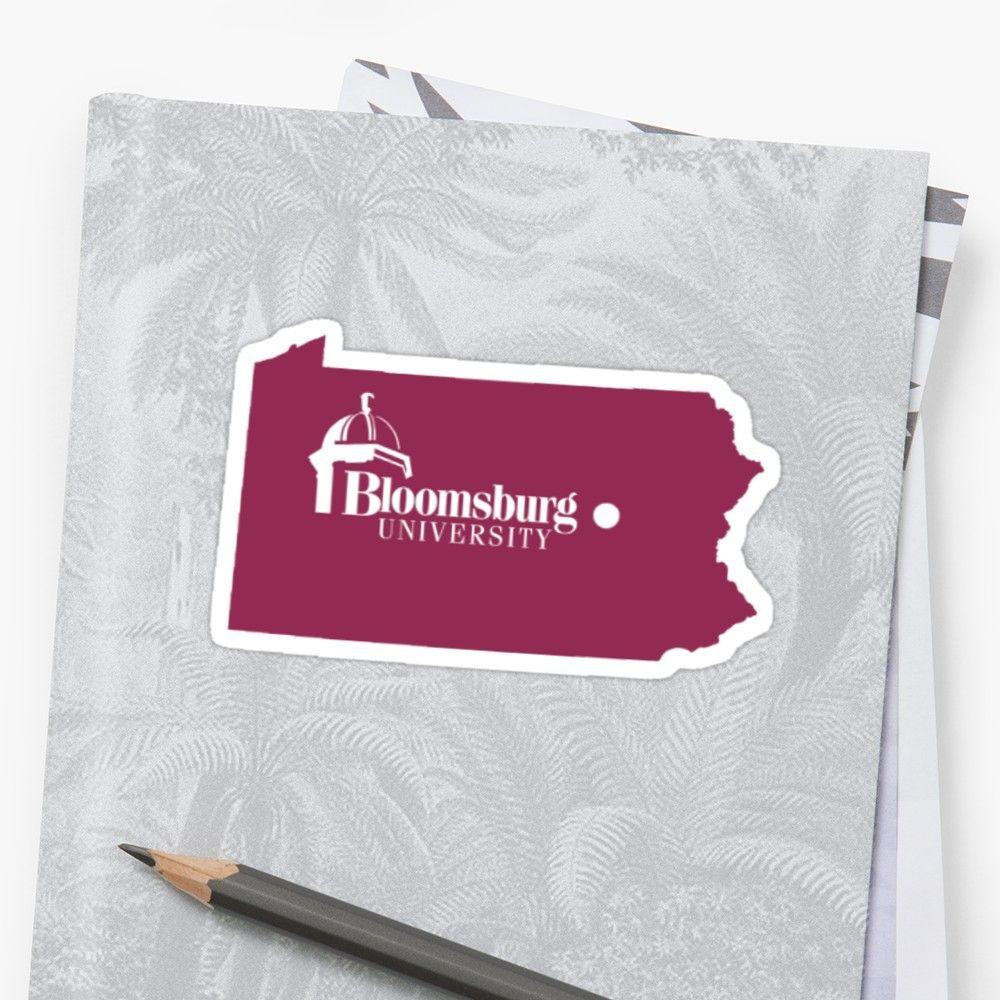 Bloomsburg University Sticker Bloomsburg University