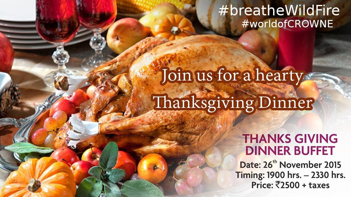 Give thanks with a grateful heart and treat your loved ones to a Thanksgiving Dinner at #Wildfire! #Thanksgiving